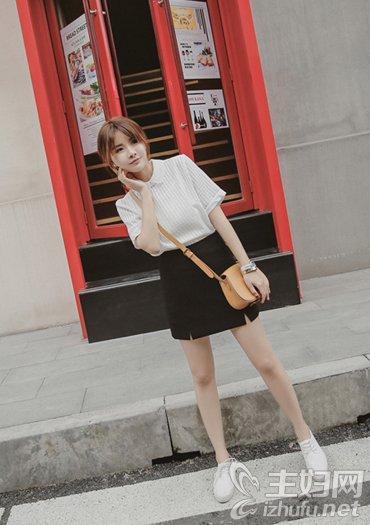 资讯【时尚街拍】教你夏季半身裙清新美搭